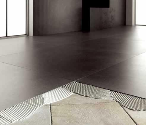 Pokládání na betonovou podlahu
